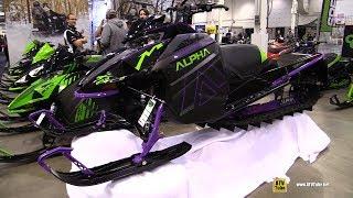 9. 2019 Arctic Cat M 8000 Mountain Cat Alpha One Sled - Walkaround - 2018 Toronto ATV Show