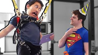 Impossible Let's Play: The Human Piñata