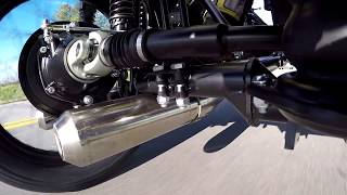 10. 2017 Ural 2WD DISENGAGED view while driving