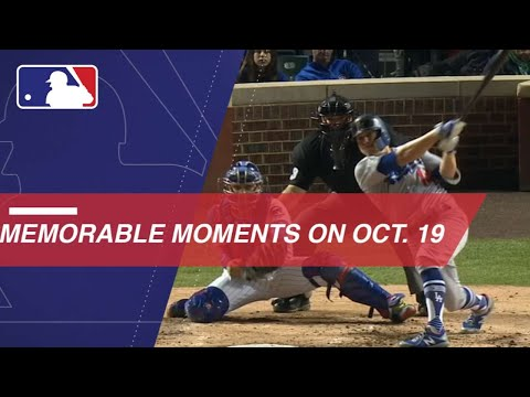 Video: The top moments in baseball history from October 19