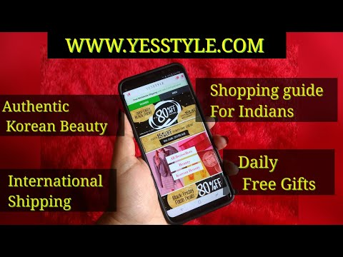 How to shop on YESSTYLE? Shopping guide for Indians   Website Tour   Free Gifts