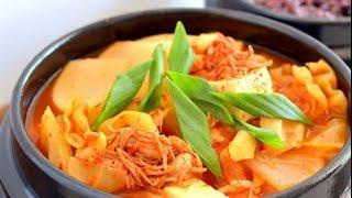 [Ẩm Thực] Món Chay: Đậu Hũ Nấu Kim Chi - Vui Sống Mỗi Ngày