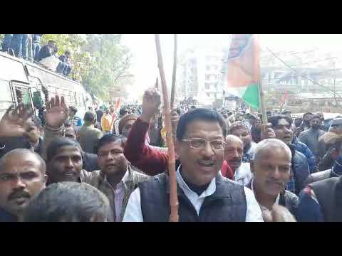 SKM NEWS SERVICE : किसान आंदोलन के समर्थन में उत्तराखंड कांग्रेस का राजभवन कूच।
