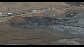 Eden (NC) United States  City new picture : Duke Energy's giant coal ash spill in Eden, NC