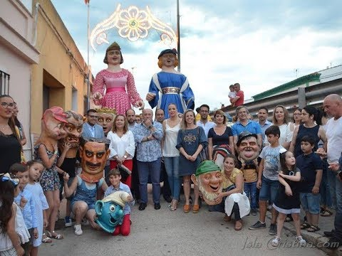 Inauguración alumbrado Fiestas María Auxiliadora de Pozo del Camino