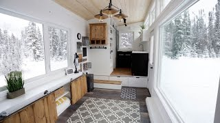 Video Open Concept Modern Tiny House with Elevator Bed MP3, 3GP, MP4, WEBM, AVI, FLV September 2019