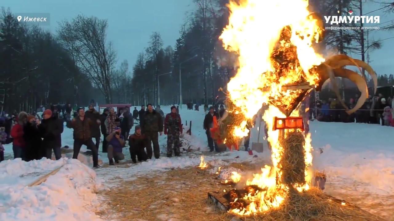 «Возрождение» фестиваля огненных скульптур состоялось в Ижевске