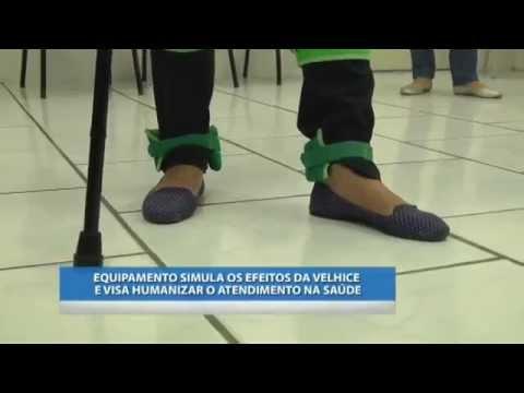 EQUIPAMENTO SIMULA OS EFEITOS DA VELHICE E VISA HUMANIZAR O ATENDIMENTO NA SAÚDE