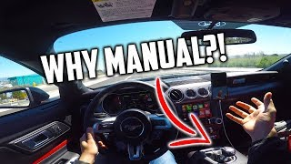 Why I got a MANUAL 2019 MUSTANG GT! Let me EXPLAIN..
