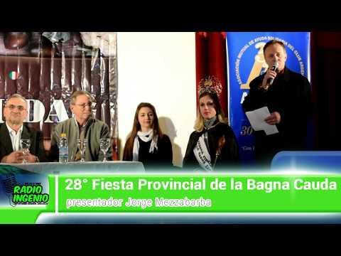 lanzamiento de la 28° Fiesta Provincial de la Bagna Cauda,