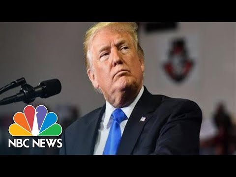 Watch Live: President Donald Trump Holds Campaign Rally In Montana | NBC News