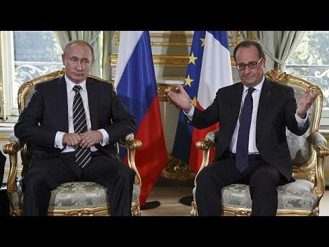 Παρίσι: Η ουκρανική κρίση στις συνομιλίες Ολάντ-Πούτιν-Ποροσένκο-Μέρκελ