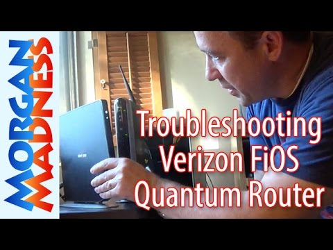Troubleshooting Verizon FiOS Quantum Gateway Router Set-up and Installation