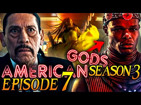 "American Gods Season 3 Episode 7 Breakdown + Easter Eggs Explained! ""Fire and Ice"""