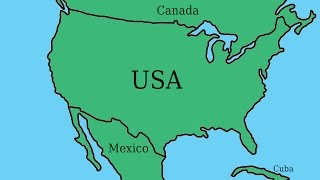 Alternate Future of North America - Episode 1 - CSA, Stronger Mexico, and collapse of America!