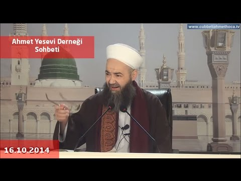 16 Ekim 2014 Ahmet Yesevi Derneği Sohbeti