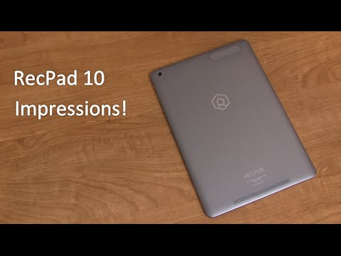 RecPad 10 Tablet Unboxing and Impressions
