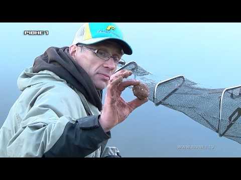 Вдала риболовля  на річці Горинь.Частина 1.