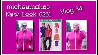 Video New Look 6251 Fleece Jacket - 2018Make9 MP3, 3GP, MP4, WEBM, AVI, FLV Oktober 2018