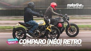 8. COMPARO MOTO GUZZI V7 III CARBON vs DUCATI SCRAMBLER ICON