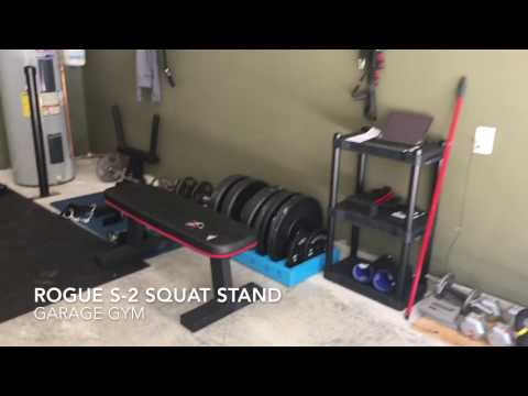 Rogue s 2 squat stand 2.0 weight training 2.3 meter squat rack