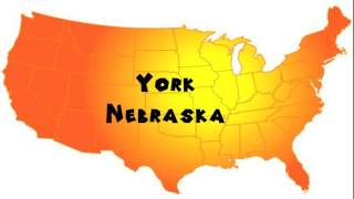 York (NE) United States  city pictures gallery : How to Say or Pronounce USA Cities — York, Nebraska