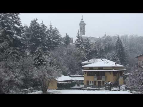 Nevicata ad Almenno