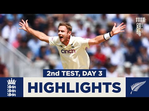 England v New Zealand-Day 3 Highlights | Wickets tumble on eventful day| 2nd LV= Insurance Test 2021