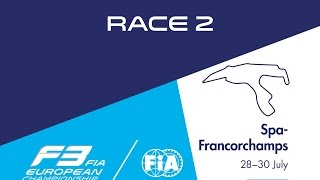 20th race of the 2016 season / 2nd race at Spa-Francorchamps