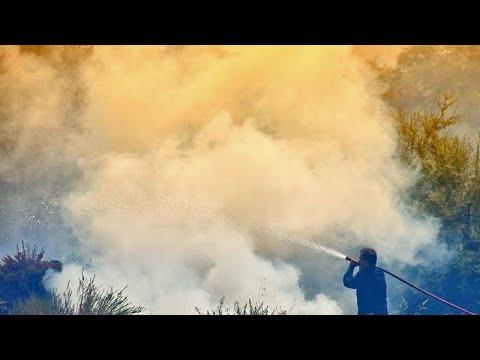 Μεγάλη πυρκαγιά στην Εύβοια – Έκλεισε η κυκλοφορία από και προς Βόρεια Εύβοια…