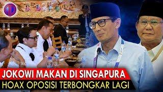 Video Makjlebb! Jokowi Makan di Singapura, H04x Oposisi Terb0ngk4r Lagi MP3, 3GP, MP4, WEBM, AVI, FLV November 2018