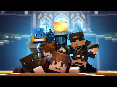 animation - Welcome to Team Crafted! SkyDoesMinecraft, TheBajanCanadian, JeromeASF, MinecraftUniverse, SSundee, HuskyMudkipz and DeadloxMC have finally moved into a hous...