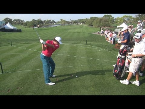GOLF SWING 2013 – JASON DUFNER FAIRWAY WOOD DRIVE – ELEVATED FULL SPEED & SLOW MOTION – 1080p HD