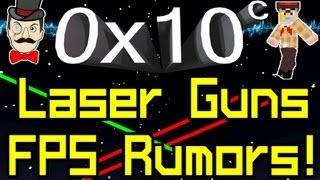 0x10c - News LASER GUNS in FPS&Hyperplayer !