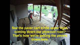 How to Install a Paver Patio, Minneapolis: Timelapse Photo/Video
