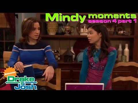 Drake & Josh  Mindy moments - Season 4 Part 1