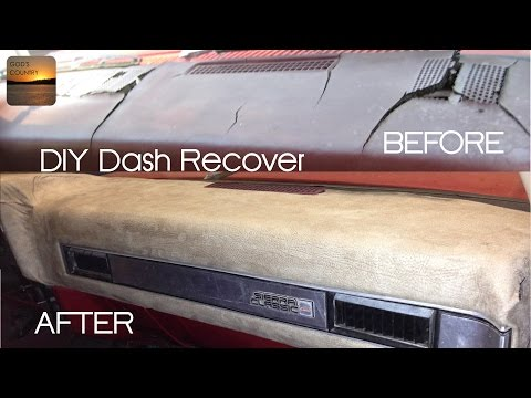 How to Recover Your Dash – 1973-1987 GM Truck