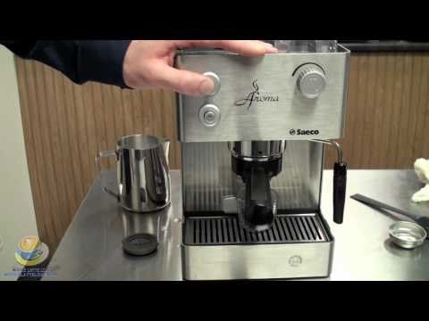 An Introduction To The Saeco Aroma SS Semi-automatic Espresso Machine