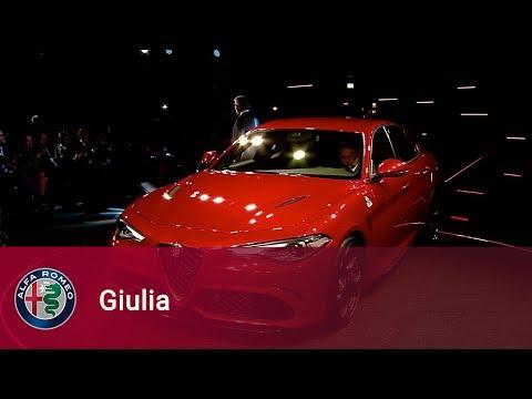 nuova alfa romeo giulia - presentazione!