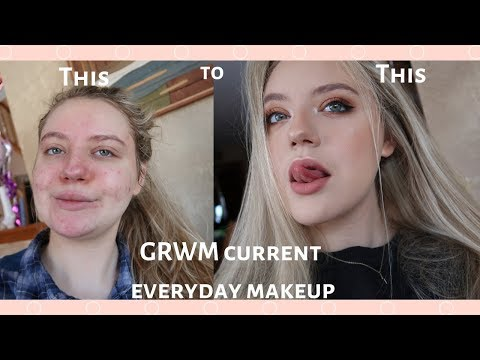 My Everyday Makeup Routine For Acne Coverage Kaysi Koi