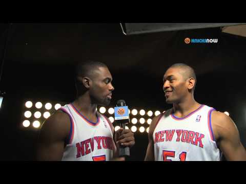 new york knicks - Metta World Peace interviewed his teammates to get the answers to some hard hitting questions.