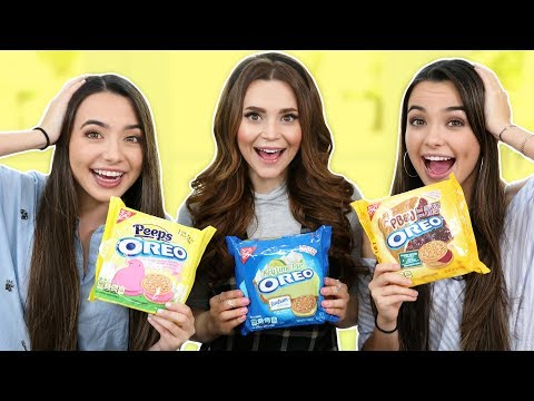 OREO CHALLENGE PART TWO! w/ the Merrell Twins!