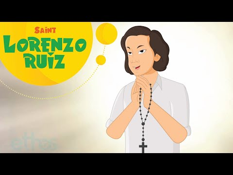 Story of Saint Lorenzo Ruiz | Stories of Saints for Kids | EP84