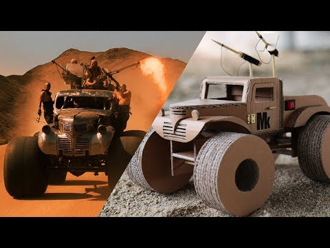 "How To Make ""Mad Max: Fury Road"" Monster Truck - Cardboard DIY"
