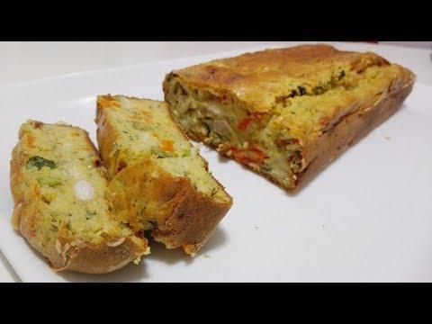 plumcake di minestrone - ricetta