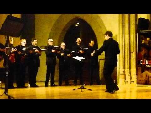 Concierto de Tinieblas en Ávila. Amicus Meus. T.L. de Victoria