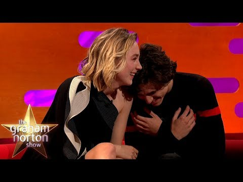 Timothée Chalamet Can't Handle Saoirse Ronan's Shrek Impression   The Graham Norton Show