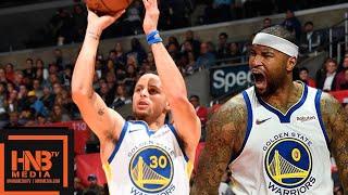 Golden State Warriors vs LA Clippers Full Game Highlights | 01/18/2019 NBA Season