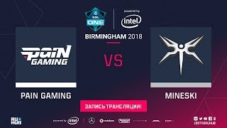 paiN vs Mineski, ESL One Birmingham, game 1 [Adekvat, Jam]