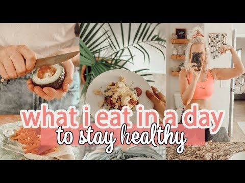 WHAT I EAT IN A DAY TO STAY HEALTHY 2019 / HEALTHY LIVING Q&A